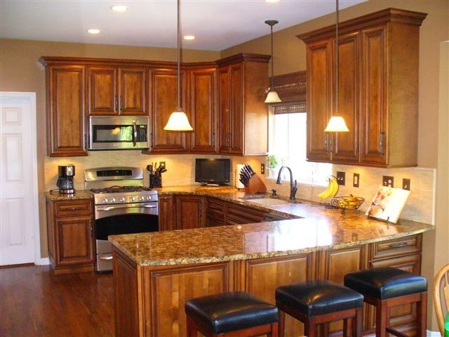 Leland Furniture for a Traditional Kitchen with a Countertops and Kitchens by Choice Cabinet