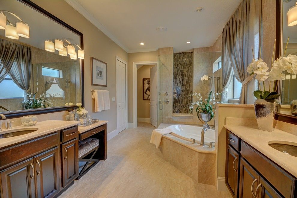 Lennar Homes Florida for a Transitional Bathroom with a Home Builders in Flagler County and Ravello Ii by Bellagio Custom Homes Llc