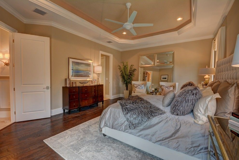 Lennar Homes Florida for a Transitional Bedroom with a Bellagio Homes and Ravello II by Bellagio Custom Homes LLC
