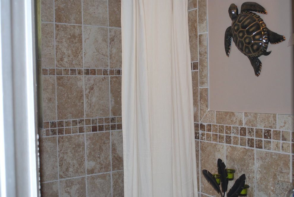Lennar Homes Miami for a Tropical Bathroom with a Tropical and Maclyn by Maclyn