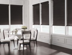 "levolor.com for a Modern Dining Room with a Horizontal Blinds and Levolor 2"" Premium Wood Blinds From Blinds.com by Blinds.com"