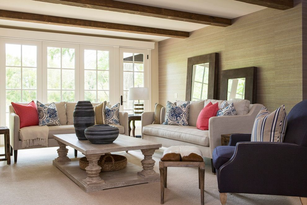 Lexus of Woodland Hills for a Transitional Family Room with a Bright and Locust Hills Drive Residence 2 by Martha O'hara Interiors