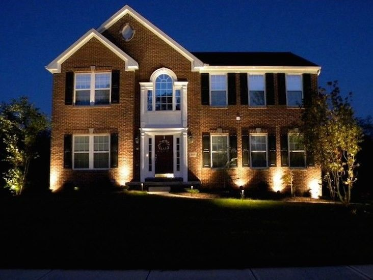 Lightscapes for a  Spaces with a  and Architectural Features by Southern Lightscapes
