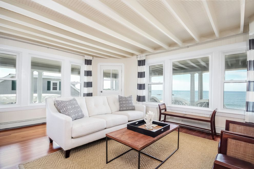 Lila Delman Real Estate for a  Spaces with a Cathedral Ceilings and Beachfront Property | Horseneck Beach | 151 West Shore Rd | Westport, MA by Lila Delman Real Estate International