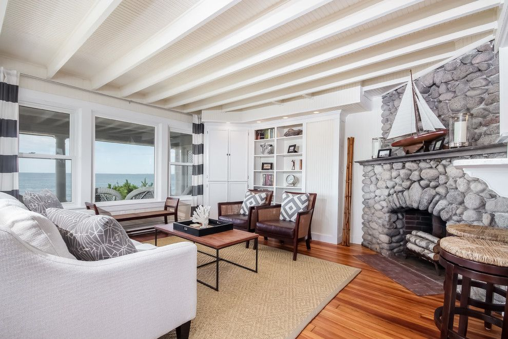 Lila Delman Real Estate for a  Spaces with a Foyerhall and Beachfront Property | Horseneck Beach | 151 West Shore Rd | Westport, Ma by Lila Delman Real Estate International