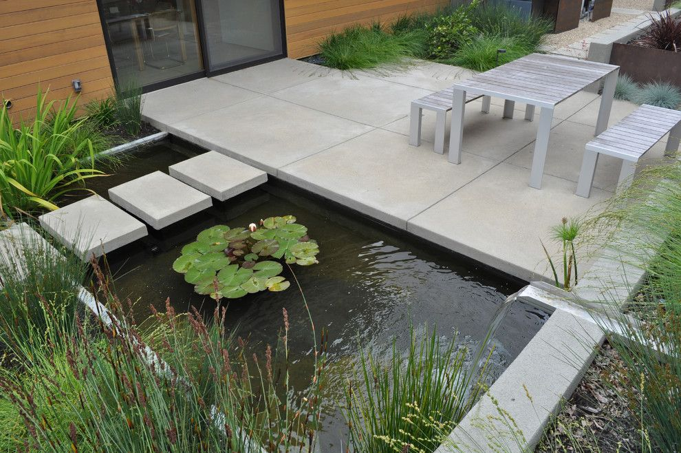Lillys for a Contemporary Landscape with a Patio Furniture and Sunol Landscape by Huettl Landscape Architecture