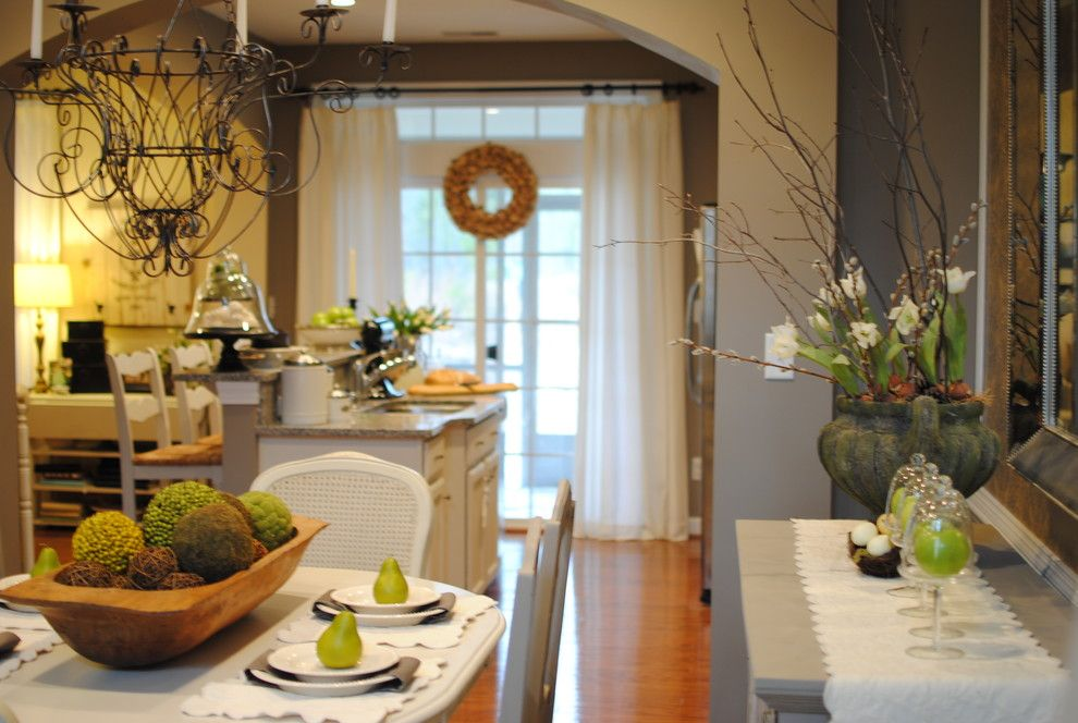 Lillys for a Traditional Dining Room with a Traditional and Dining Room by Dear Lillie
