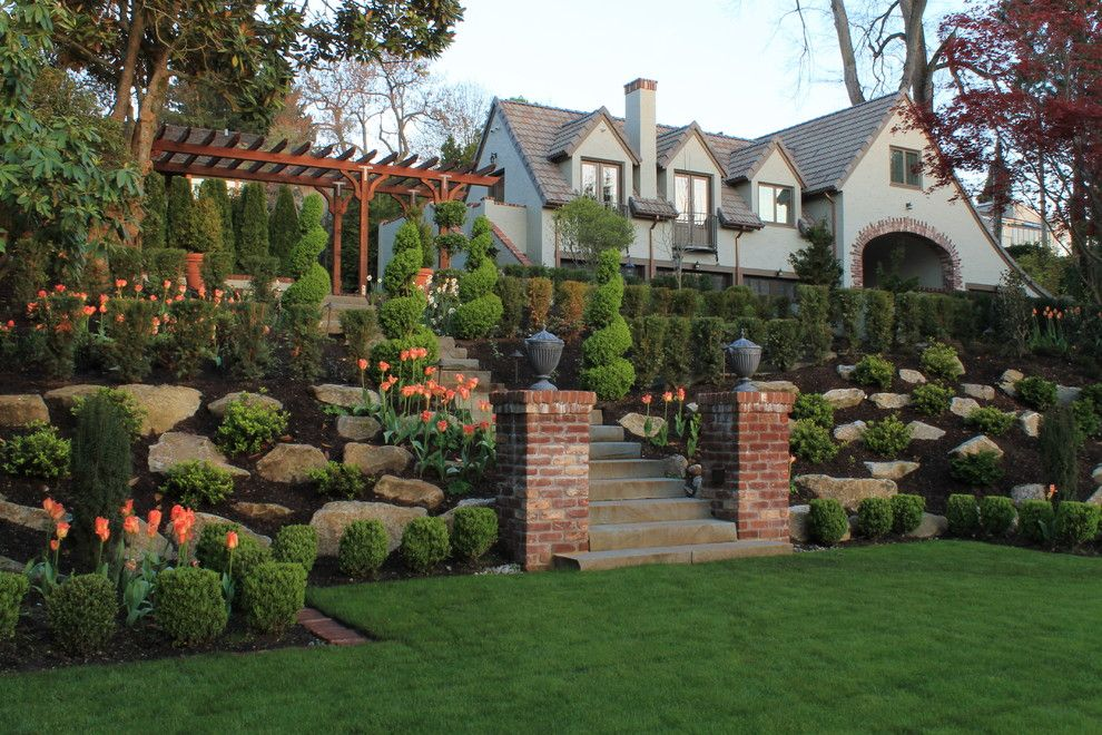Lillys for a Traditional Landscape with a Shrubs and Brighton Beach Estate by Ahbl