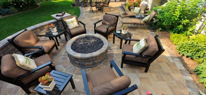 """Limestone Grill for a Traditional Patio with a Grills and Custom Hardscaping """"Grills, Fireplaces & More"""" by Pearl Landscaping & Patio Company"""