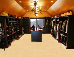Linon for a Traditional Closet with a Traditional and Canyon Springs Closet by Melanie Baker