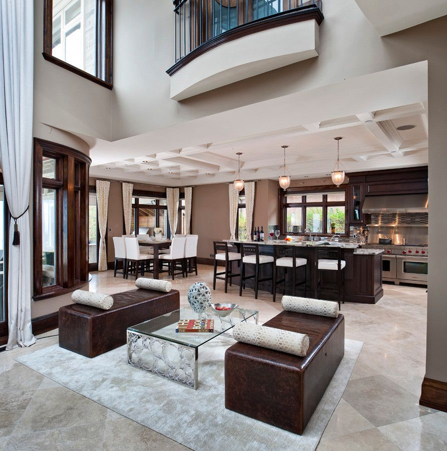 Lionsgate Homes for a Contemporary Kitchen with a Conceptual Design and Home on the Water by Lionsgate Design
