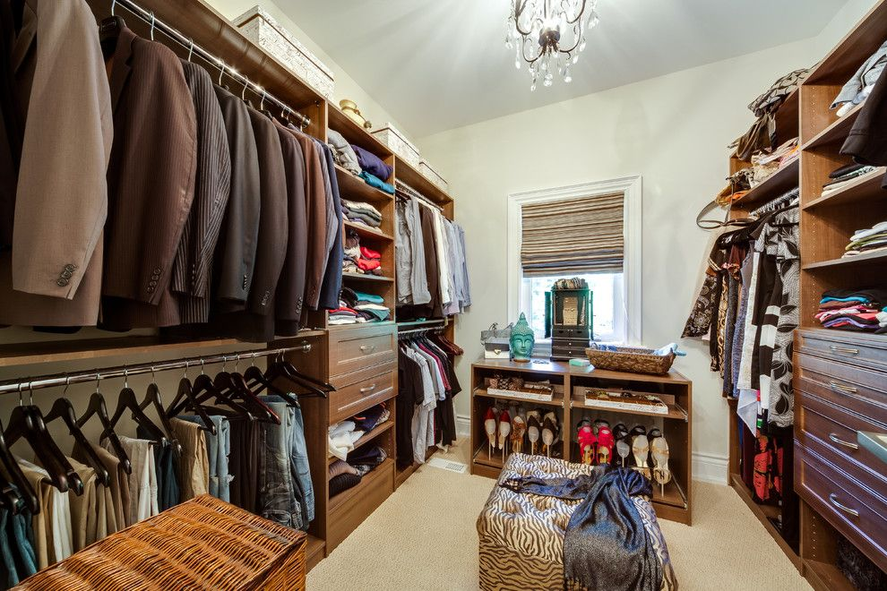 Lionsgate Homes for a Traditional Closet with a Residential and Custom Build Home by Lionsgate Design