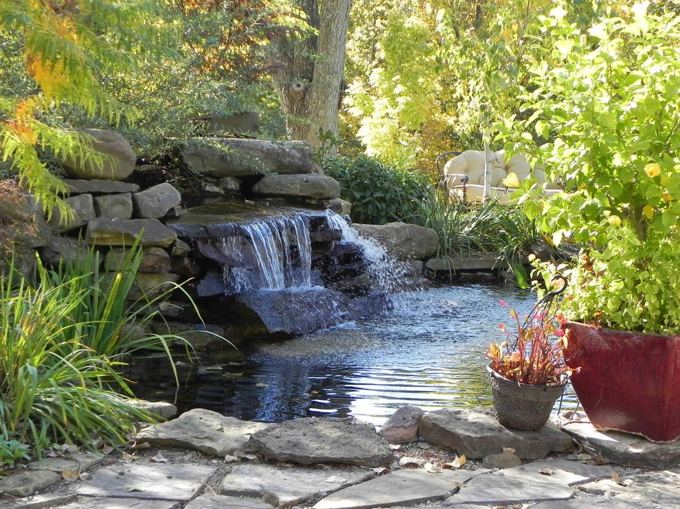 Lionsgate Homes for a Traditional Landscape with a Landscaping Kansas City and Kansas City Landscaping Landscape Design by Berry Outdoor Living, Inc.    Landscape Designer