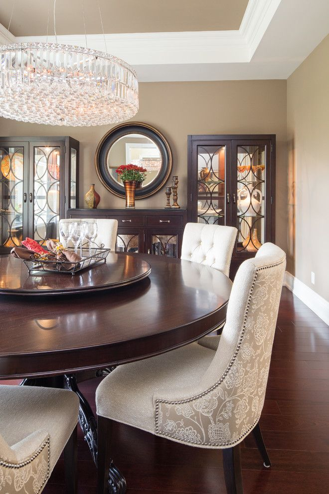 Lionsgate Homes for a Transitional Dining Room with a Full Service and Gordon Woods Property by Lionsgate Design