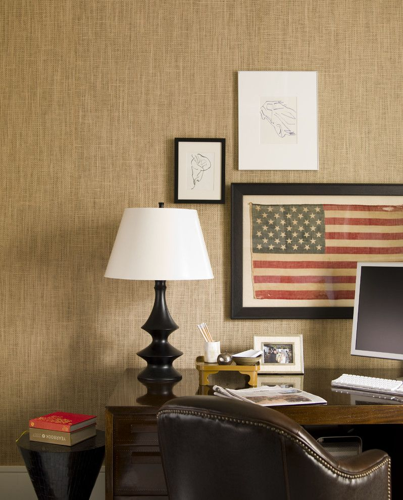 Living at Noho for a Contemporary Home Office with a Americana and Noho Loft by Thom Filicia Inc.