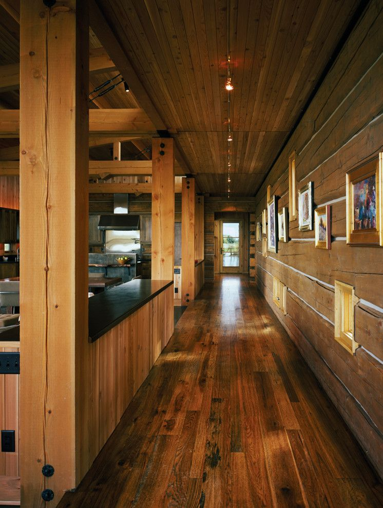 Logan Steak House for a Rustic Hall with a Hallway and New Fork Social Club by Carney Logan Burke Architects