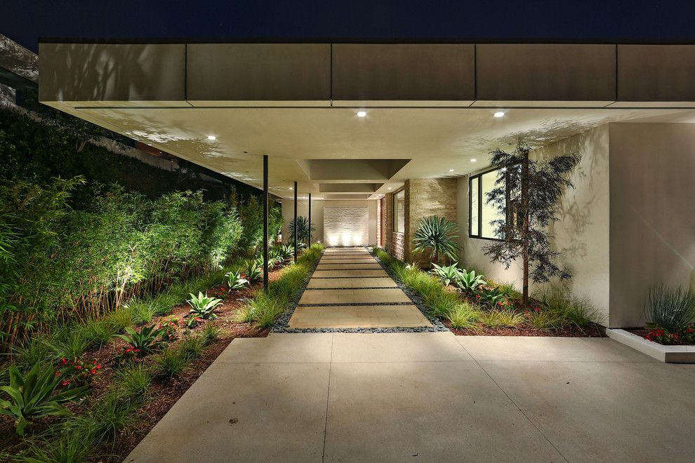 Lowes Alexandria La for a Modern Landscape with a Driveway and Modern by Gordon Gibson Construction