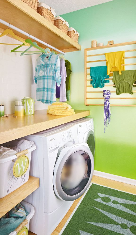 Lowes Alexandria La for a Modern Laundry Room with a Dryer and Laundry Room with Loads of Style by Lowe's Home Improvement