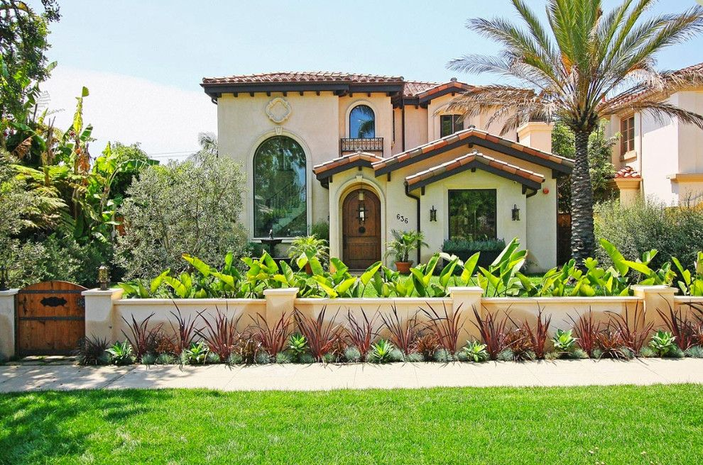 Lowes Bangor Maine for a Mediterranean Exterior with a Wood Gate and 16 Street Santa Monica by Royal Stone & Tile