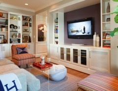 Lowes Bowie Md for a Transitional Living Room with a Beige Painted Wall and Ridgeway and Farmington Doors, Chevy Chase, MD - Greenfield Cabinetry by Greenfield Cabinetry