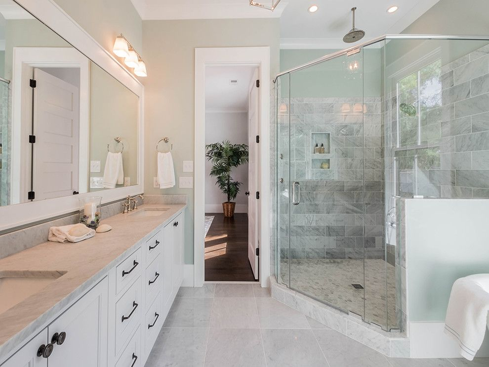 Lowes Burbank for a Transitional Bathroom with a Royall Avenue and Reid & Royall by Saussy Burbank