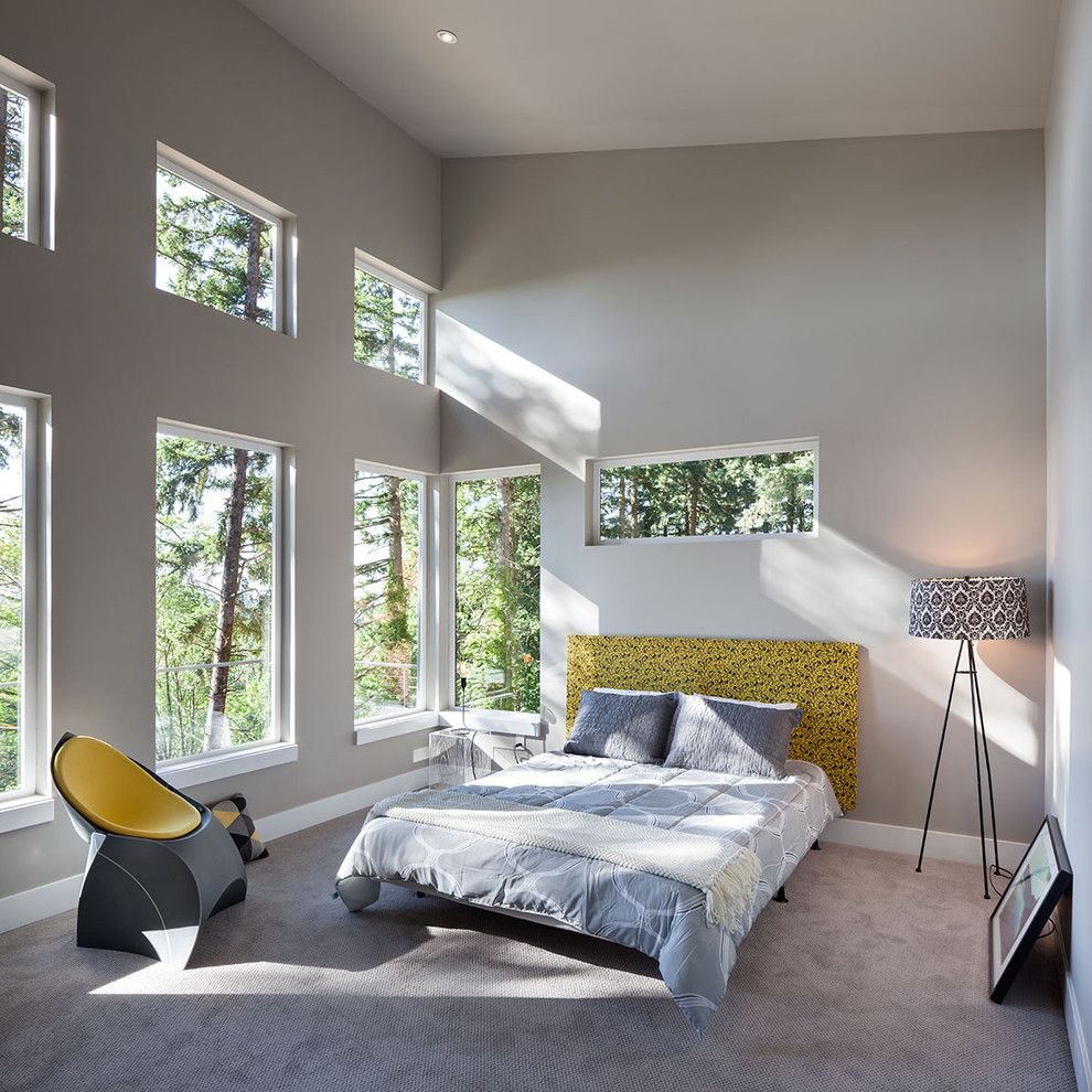 Lowes Chula Vista for a Contemporary Bedroom with a Yellow and Hilltop House | Grand Vista Subdivision by Jordan Iverson Signature Homes