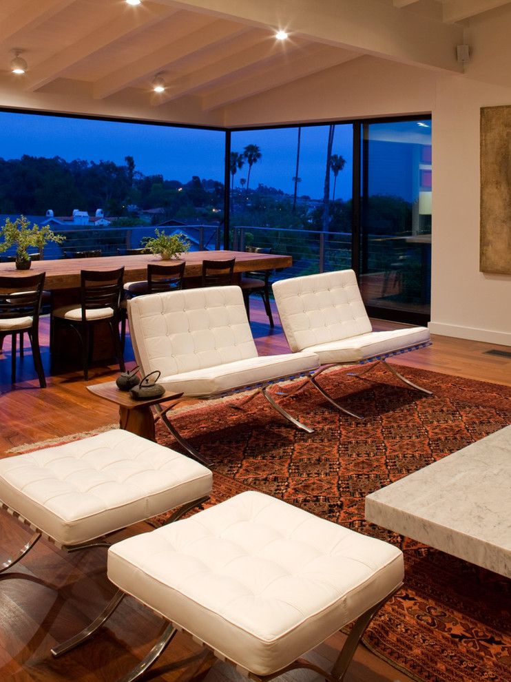 Lowes Chula Vista for a Midcentury Dining Room with a Open Floor Plan and Dining by Laidlaw Schultz Architects