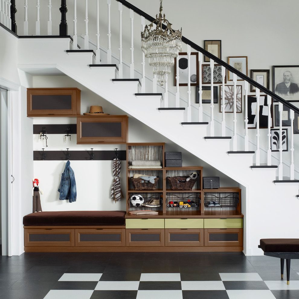 Lowes Citrus Heights for a Traditional Entry with a Organized Storage and Traditional Entry by californiaclosets.com