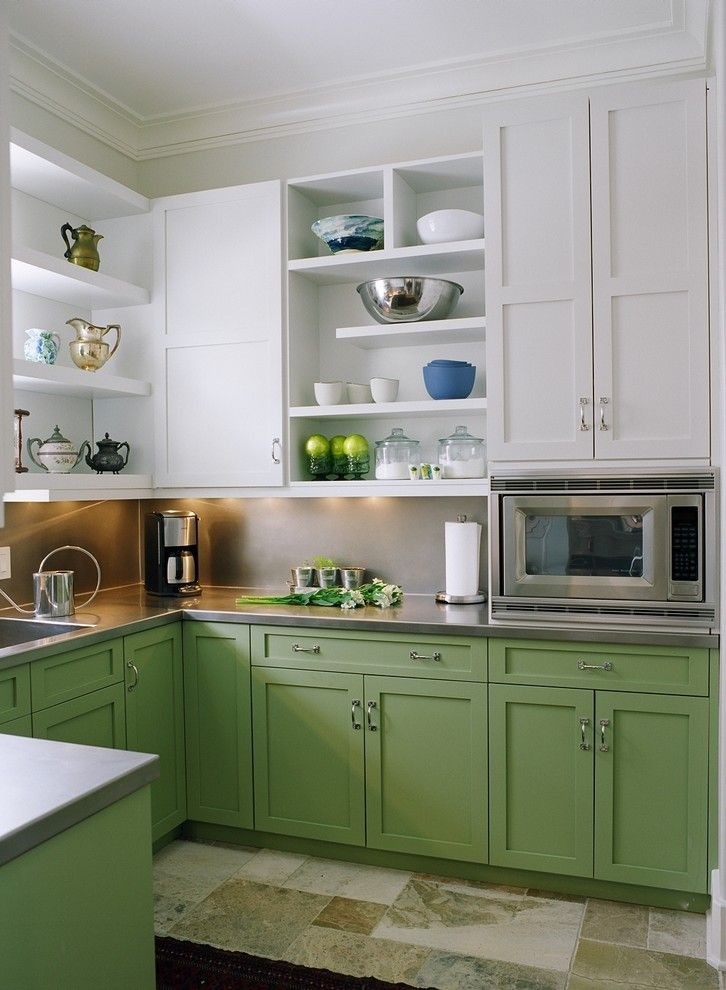 Lowes Citrus Heights for a Traditional Kitchen with a Crown Molding and Scullery by Hermitage Kitchen Design Gallery