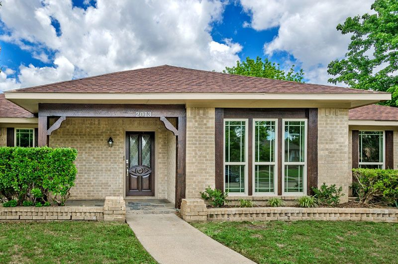 Lowes Dallas for a Transitional Exterior with a 1970s and Tampico by North Point Realty