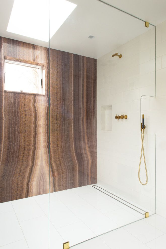 Lowes Davenport for a Contemporary Bathroom with a Low Maintenance and Chappaqua