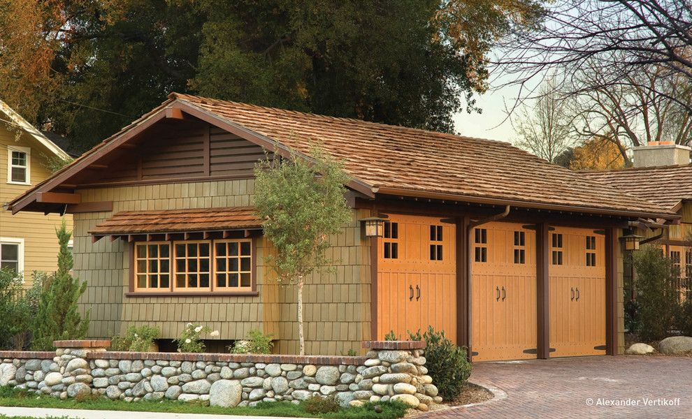 Lowes Davenport for a Craftsman Shed with a Historical Restoration and Darling Residence by Hartmanbaldwin Design/build