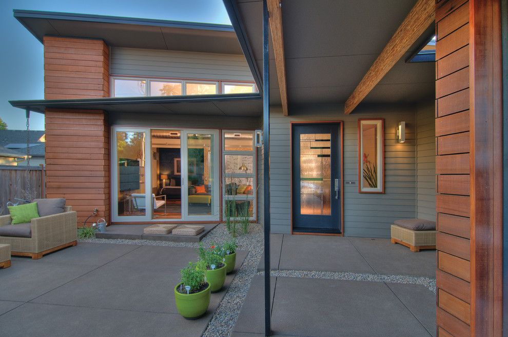 Lowes Eugene for a Transitional Patio with a Psl Beams and Thesage by Arbor South Architecture