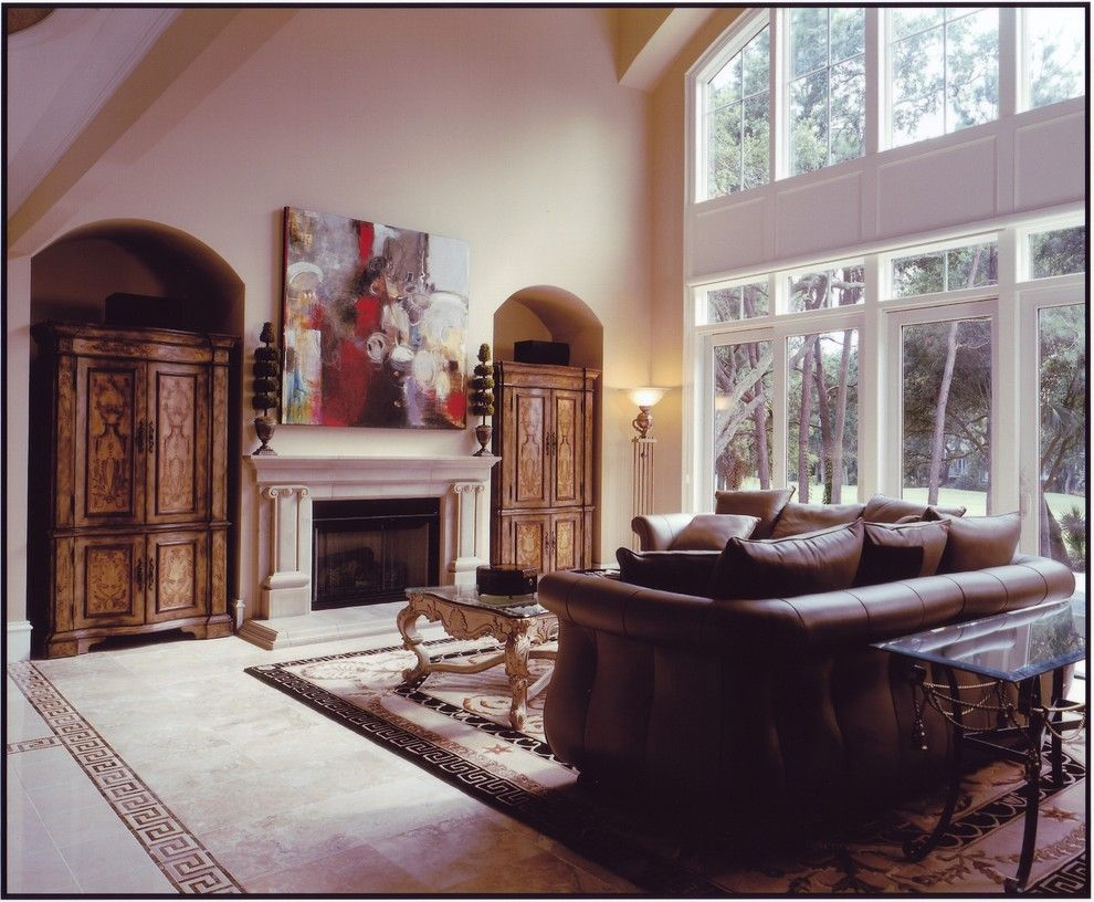 Lowes Greenwood Sc for a Traditional Living Room with a Traditional and Kiawah Island Low Country Equisite by Architecture Plus, Sc Llc