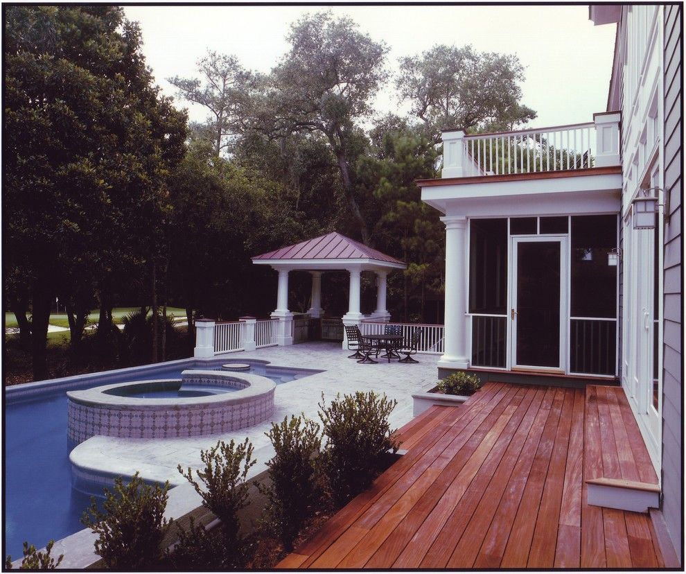 Lowes Greenwood Sc for a Traditional Pool with a Traditional and Kiawah Island Low Country Equisite by Architecture Plus, Sc Llc