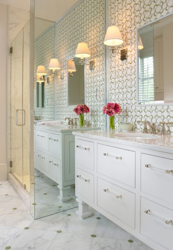 Lowes Hampton Va for a Traditional Bathroom with a Alabaster and Bathroom Scw Interiors Photos by Gridley + Graves by Gridley + Graves Photographers