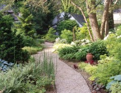 Lowes Huber Heights for a Traditional Landscape with a Walkway and Traditional Landscape by littlemiraclesdesigns.com