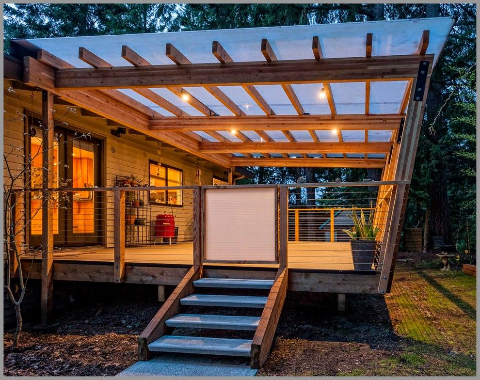 Lowes Issaquah for a Contemporary Deck with a Translucent and Issaquah Deck by Westerbeck | Architecture