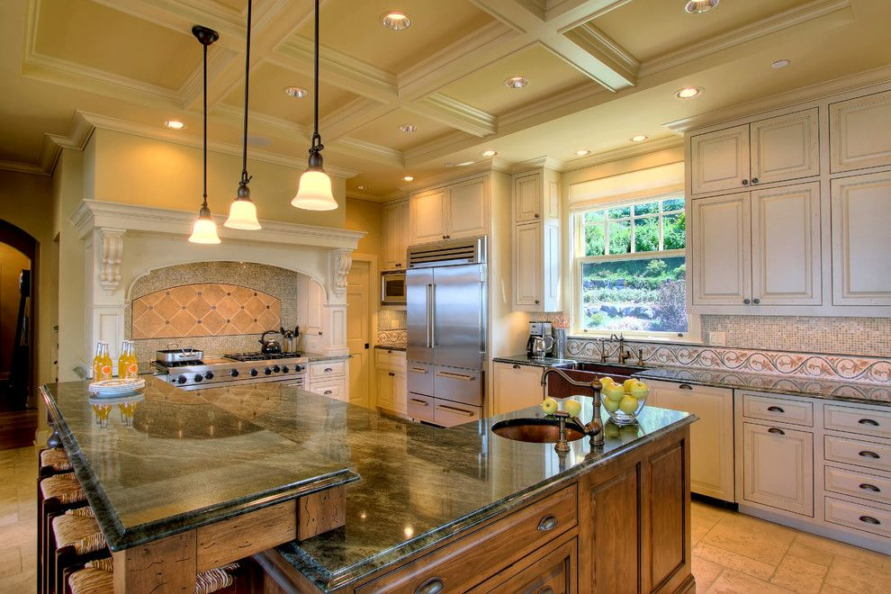 Lowes Issaquah for a Traditional Kitchen with a Mixed Wood and Issaquah Highlands Residence by Hilary Young Design Associates