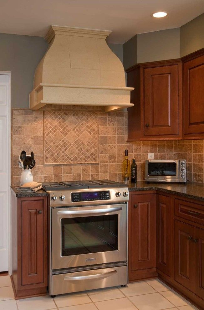 Lowes New Castle Pa for a Traditional Kitchen with a Dark Countertop and Transitional Kitchen Remodel: Maple Glen, Pa by Hometech Renovations, Inc.