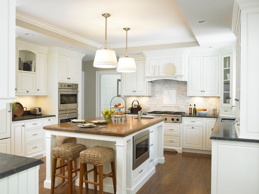 Lowes New Castle Pa for a Traditional Kitchen with a Island Seating and Valley Kitchen by Christine Donner Kitchen Design Inc.
