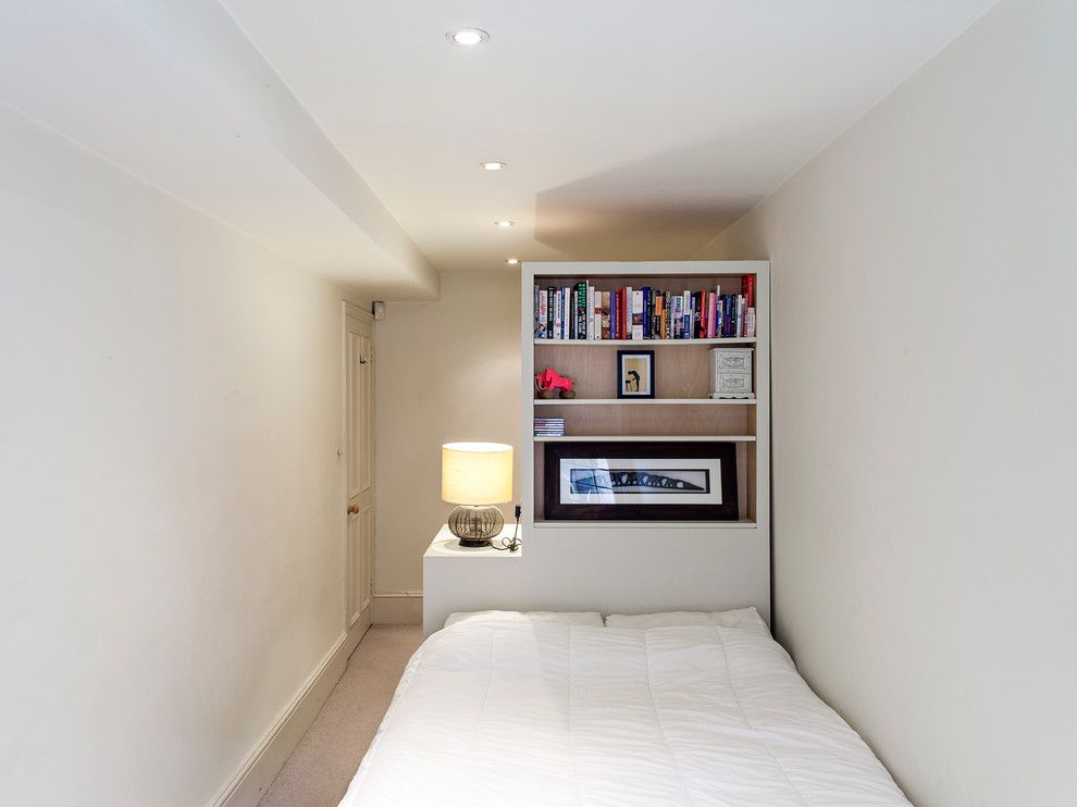 Lowes New Orleans for a Contemporary Bedroom with a Male Bedroom Decorating and Notting Hill by Maxwell & Company Architects