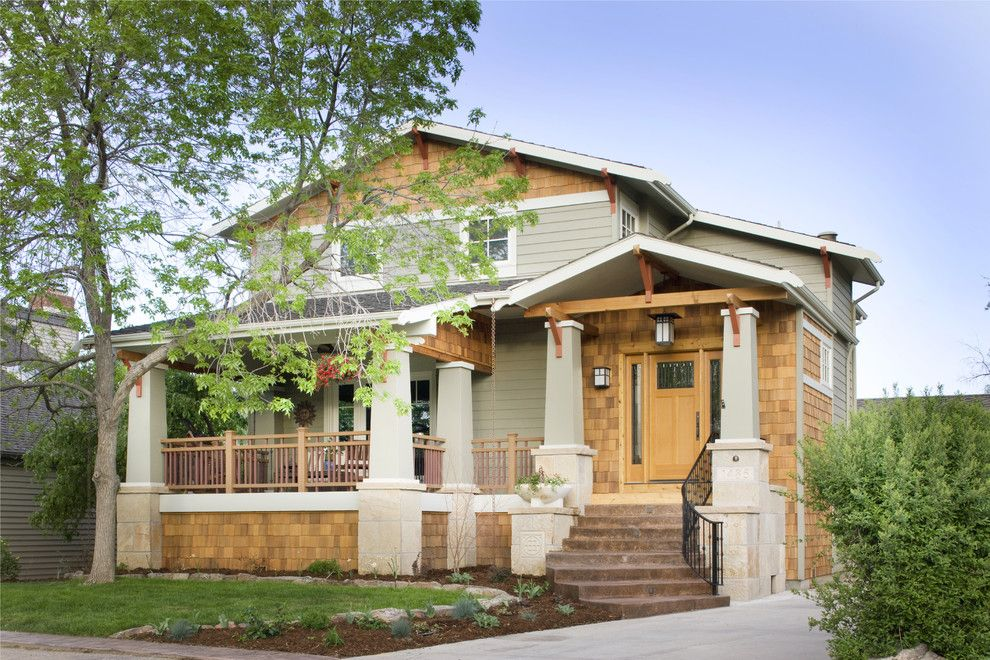 Lowes New Orleans for a Craftsman Exterior with a Porch Light and Craftsman Exterior by Lawrence and Gomez Architects