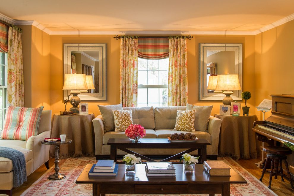 Lowes Newark De for a Traditional Living Room with a Traditional and Living Spaces by Amy Yin Interiors, Llc