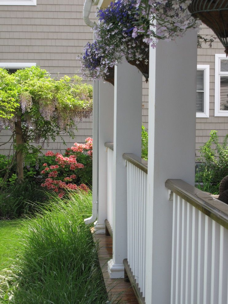 Lowes Newark De for a Traditional Porch with a Perennial Garden Shore House and Belmar by Greenrose Enterprises