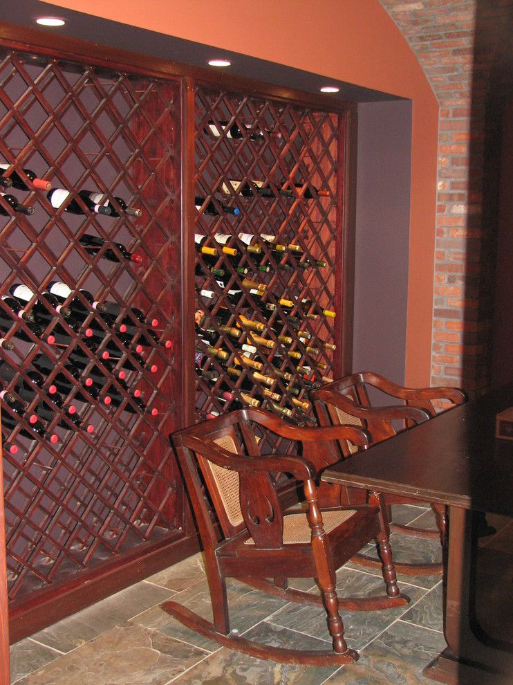 Lowes Newark De for a Traditional Wine Cellar with a Custom Wine Cellar and Basements Wine Cellar by Stoneleigh Builders Llc.