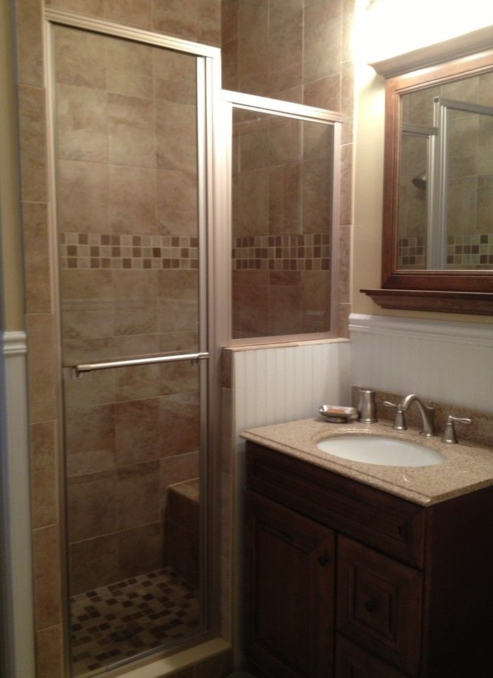 Lowes Nj for a Traditional Spaces with a Traditional and Bathroom & Laundry   Cresskill, Nj by Lowe's of Paramus, Nj