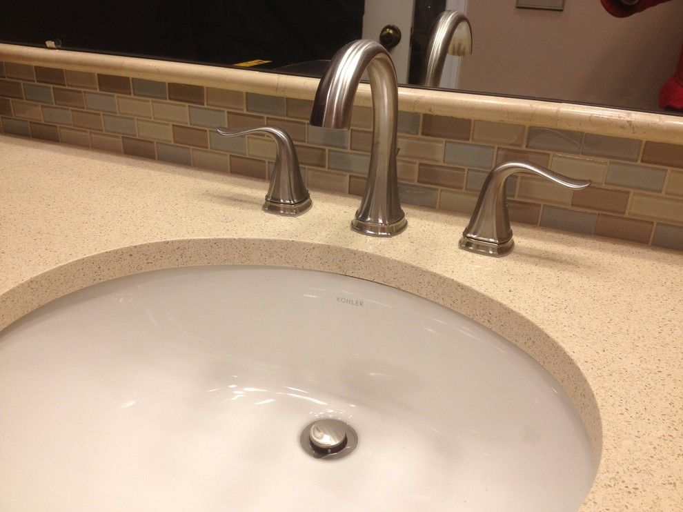 Lowes Palmyra Pa for a Traditional Bathroom with a Kohler and Diamond Master Bathroom   Zameitra by Lowe's of Palmyra, Pa