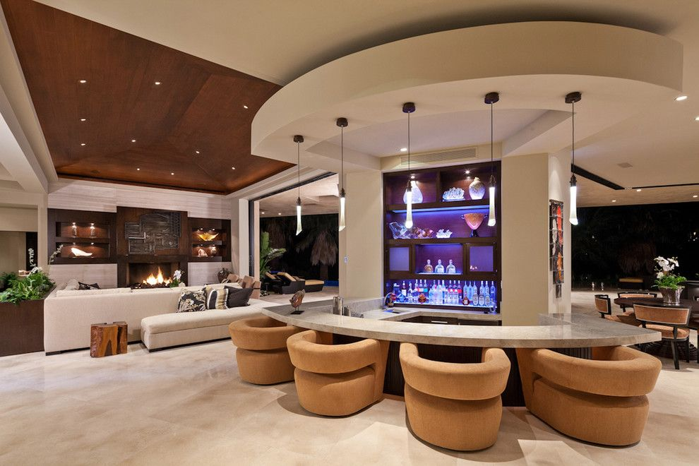 Lowes San Diego for a Contemporary Living Room with a Beige Sectional and San Andreas by Blackbird Interiors
