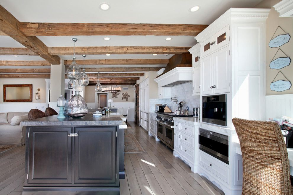 Lowes Santa Clarita for a Beach Style Kitchen with a Craftsman and Mastro Residence by James Glover Residential & Interior Design